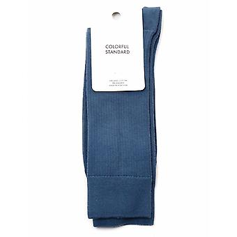 Colorful Standard Classic Organic Socks - Petrol Blue