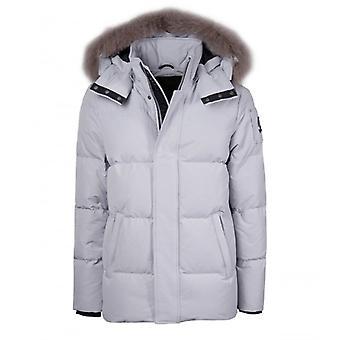 Moose Knuckles Richardson Light Grey Jacket