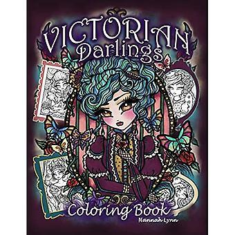 Kolorowanka Victorian Darlings