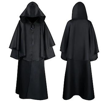 Halloween Wizard Grim Reaper Cloak 4