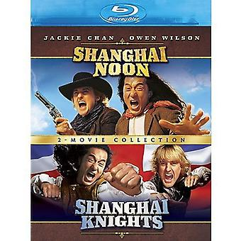 Shanghai Noon/Shanghai Knights [BLU-RAY] USA import