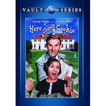 Her kommer Cookie [DVD] USA importere