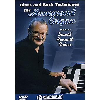 Blues & Rock Techniques for Hammond Organ - Blues & Rock Techniques for Hammond Organ [DVD] USA import