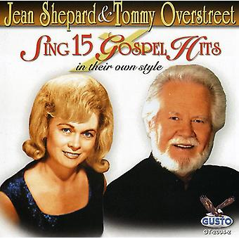 Shepherd/Overstreet - Sing 15 Gospel Hits [CD] USA import