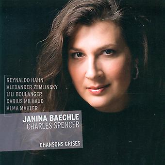 Boulanger/Hahn/Mahler-Werfel/Milhaud/Zemlinsky - Chansons Grises [CD] USA import