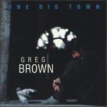 Greg Brown - en stor stad [CD] USA import
