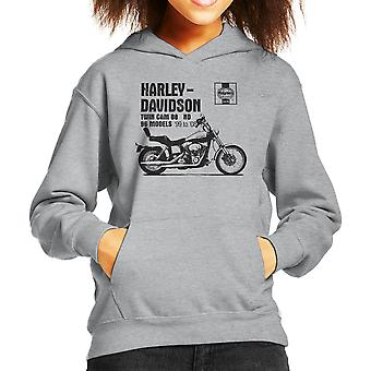 Хейнс Владельцы Семинар Руководство 2478 Harley Davidson Twin Cam 88 ND Kid'apos;s с капюшоном Sweatshirt