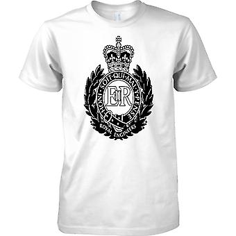 Licencjonowany MOD-Royal Engineers B & W Insignia-Koszulka dziecięca