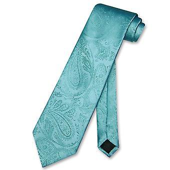 Vesuvio Napoli necktie Paisley design barbati ' s Neck cravată
