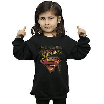 DC Comics Girls Superman Schild Sweatshirt