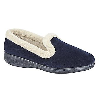 Sleepers Womens/Ladies Sophia Memory Foam Slippers