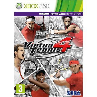 Virtua Tennis 4 (Xbox 360) - Neu