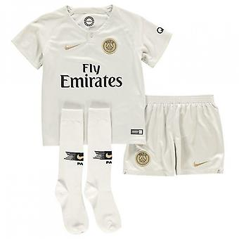 2018-2019 PSG Away Nike Little Boys Mini Kit