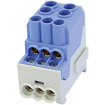 HoraeTec 080010-1-4 Distribution block Blue 1-pin
