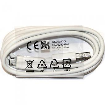 Original 1 m LG charger data cable micro USB for LG G2 G3 G4 white
