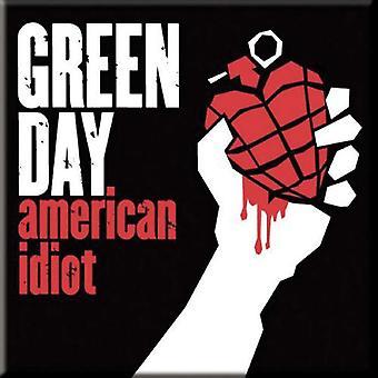 Green Day Kühlschrank Magnet amerikanischen Idioten neue offizielle 76 x 76 mm