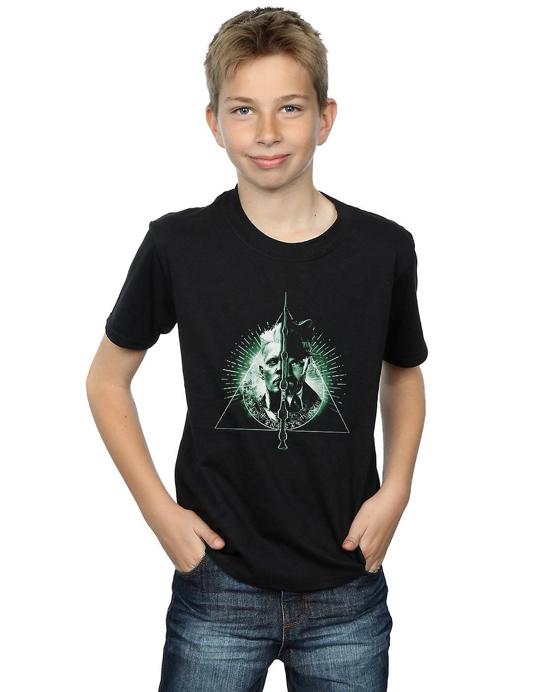 Fantastic Beasts Boys Dumbledore Vs Grindelwald T-Shirt