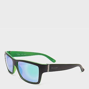 New BLOC Men's Retro Riser Sunglasses with XTR Karbon8 lenses Green