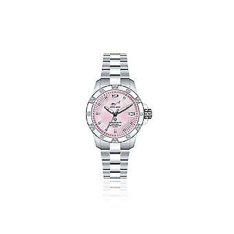 CHRIS BENZ - Diver Watch - DIAMOND DIVER Pink Pearl Harbour - CB-DD200-R-MBO
