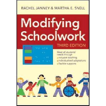 Wijzigen van schoolwerk (3e) door Rachel Janney - Martha E Snell - 978159