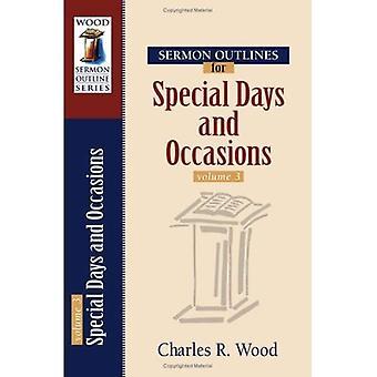 Sermone contorni per giorni speciali e occasioni
