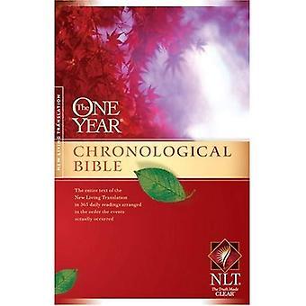 La Bible chronologique d'un an au plus tard (un an Bible: Nlt) (un an Bible: Nlt)