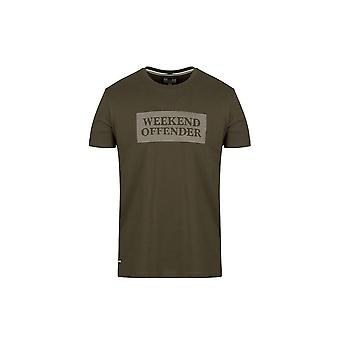 Weekend Offender Groves T-shirt In Spruce
