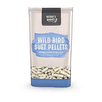 Natures piata 1Kg (2,2 lbs) sac de Suet pelete feed Wild Bird Food