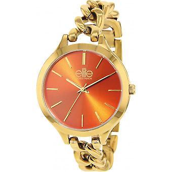Elite E54384G-111 - watch steel gold woman