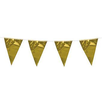 Flaggirlang - France Vimpelgirlang - France Pennant Gold - 3 m.