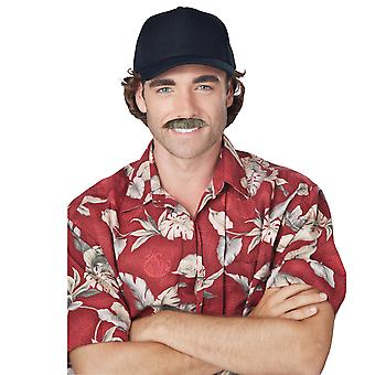 The Magnum 1970s Private Investigator Pi Tom Selleck Ron Men Costume Moustache