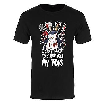 Psycho Penguin Mens  My Toys Premium T-Shirt