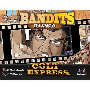 Colt Express Bandits Expansion Pack-Django Board Game