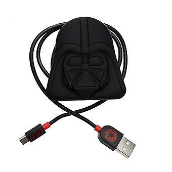 Star Wars: Darth Vader controller opladerkabel med kabel ryddelige (PS4)