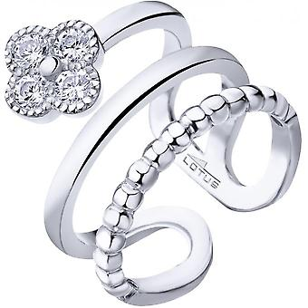 Lotus Silver PURE ESSENTIAL Ring LP1612-3-1 - Women's Glable Tr Fle R Ring