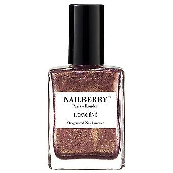 NailBerry Nail Polish Oxygenated Nail Lacquer Collection - Pink Sand 15ml