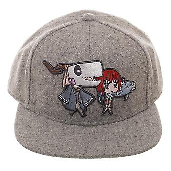 Baseball Cap - Ancient Magus Bride - Snapback New Licensed sb6mszcru