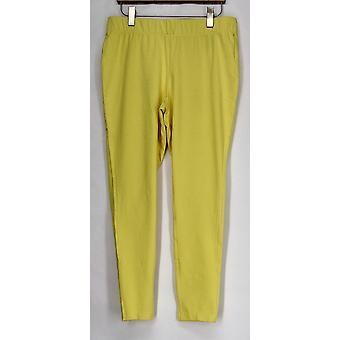 Afslanken opties voor Kate & Mallory leggings vormgeving bijgesneden geel A408576