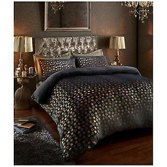 Velluto Touch Fleece stelle Foil foglio Extra profonda componibile caldo accogliente letto biancheria da letto
