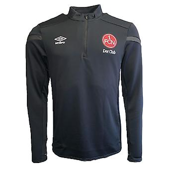 2019-2020 Nurnberg Umbro Half Zip Training Top (Black)