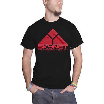 Terminator T Shirt Skynet Logo nouveau officiel Studiocanal Mens Black