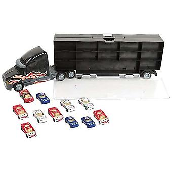 醜いメガ トラックを運ぶ 12 車