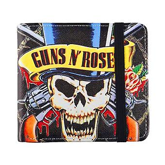 Guns N' Roses Skull Bi-Fold Wallet