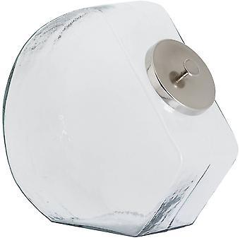 Hill Interiors Glass Chrome Lid Sweet Jar