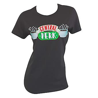 Friends Central Perk Women's Grey Tee Shirt