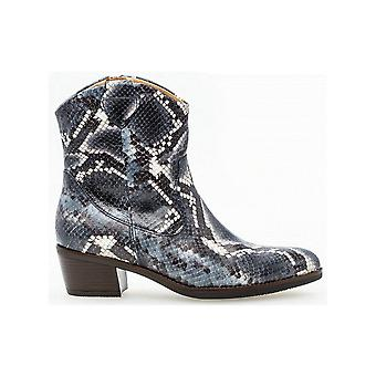 Gabor Croc Print Cowboy Style Ankle Boot - Malmo 31.600