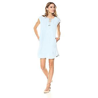 Splendid Women's Drop Shoulder Dress Indigo Crosshatch,, Polar, Size X-Small