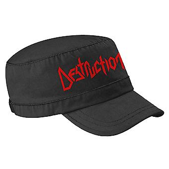 Destruction Army Cap Band Logo new Official Black