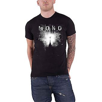 Mono T Shirt Nowhere Now Here Band Logo new Official Mens Black