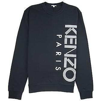 Kenzo Side Paris Logo Sweatshirt Noir